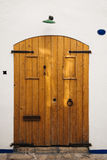 Old fashioned wooden door Royalty Free Stock Image