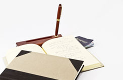 Old Fashioned Writer's Tools Royalty Free Stock Photography