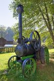 Old fashionned  thresher Royalty Free Stock Photos