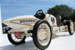 Old fast racing car. Antique turn of the twentieth century speed record holder breaker. rare 1909 Blitzen-Benz at the AutoNation Mercedes-Benz display at the Royalty Free Stock Images