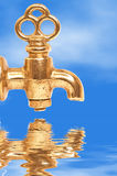 Old Faucet Stock Photography