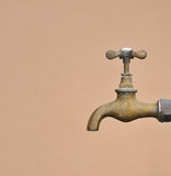 Old Faucet fountain. Royalty Free Stock Image