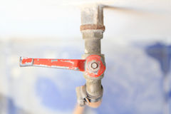 Old faucet Royalty Free Stock Images