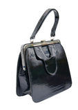Old female retro handbag Stock Image