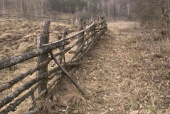 Free Old Fence Stock Photography - 7233902