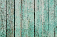 Old fence blue. Wood texture background royalty free stock photo