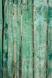 Old fence boards. Benches, painted, paint will cloud and deteriorate with time, color Royalty Free Stock Photos