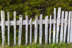Old fence at Fort Ross Historic State Stock Image