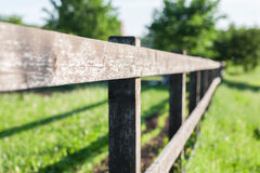 Old fence fragment Royalty Free Stock Image