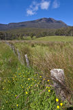 Old fence, Great Western Tiers, Tasmania Stock Images