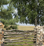 Old fence. Royalty Free Stock Photography