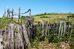 Old fence Stock Image