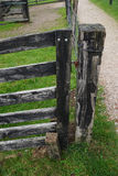 Old Fence Post and Gate Stock Photos