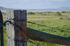 Old fence post royalty free stock images