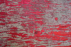 Old fence. Texture of old wooden fence painted in red Royalty Free Stock Images