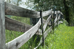 Old fence royalty free stock photo