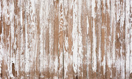Old Fence. White Wooden and Worn Picket Fence Background Stock Photography