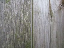 Old fence of wood Royalty Free Stock Image