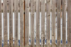 Old fence of wooden boards as background.  royalty free stock photo