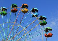 Old Ferris Wheel Royalty Free Stock Images