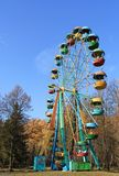 Old Ferris Wheel Royalty Free Stock Photo