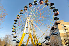 Old ferris wheel Royalty Free Stock Photography