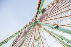 Old ferris wheel Stock Image