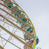 Old ferris wheel Stock Photography