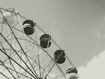 Old ferris wheel Royalty Free Stock Photos