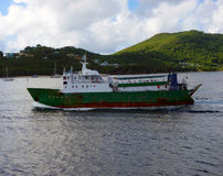 An old ferry in the grenadines Stock Images
