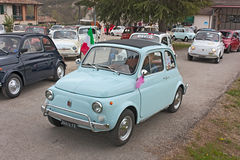 Old Fiat 500 Royalty Free Stock Photography