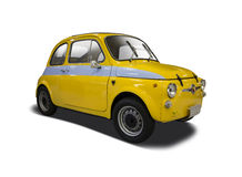 Old Fiat 500 Abarth Stock Photo