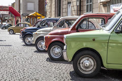 Old fiat 500. In italy Stock Photography