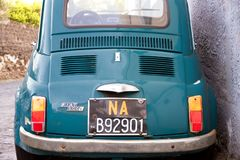 Old Fiat 500 Royalty Free Stock Photo