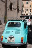 Fiat 500. Old Fiat 500 in Palermo, Sicily, Italy Stock Image