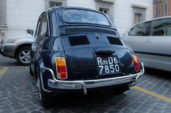 Old Fiat in Rome Royalty Free Stock Image