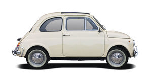 Old Fiat 500 Stock Photo
