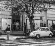 Old Fiat stock photos