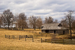 Old Field Barn Royalty Free Stock Photography