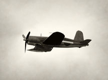 Old fighter airplane Royalty Free Stock Photography
