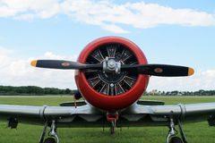 Old fighter american air force fighter Royalty Free Stock Photo