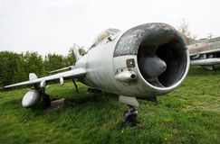 Old fighter plane Stock Image