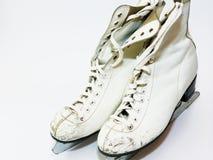 Old Figure Skates Stock Photos