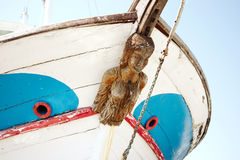 Old Figurehead on Sailing Ships. Royalty Free Stock Images