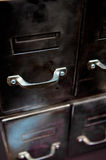 Old file drawers Royalty Free Stock Image