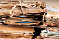 Old files Stock Images