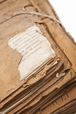 Old files. Attic files full of history and dust Stock Image