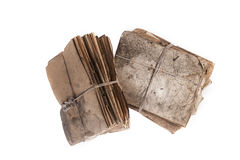 Old files. Dusty old files, full of history Royalty Free Stock Photo