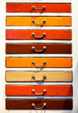 Old filing cabinet Royalty Free Stock Photography