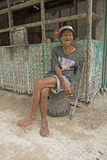 Philippines - Old Man Royalty Free Stock Photography